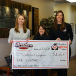 Brother's Gives Back to the LLS in March of 2019